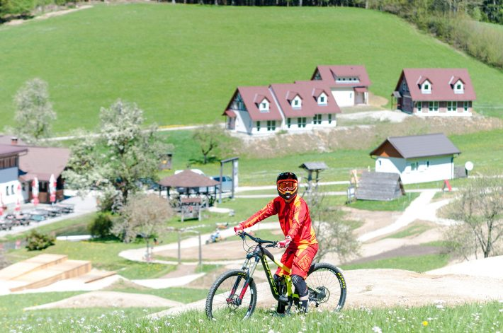 Mountainbiker am Königsberg