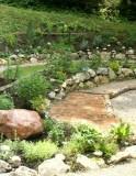 Verschieden Kräuter, die man im Erlebnisgarten bewundern kann.