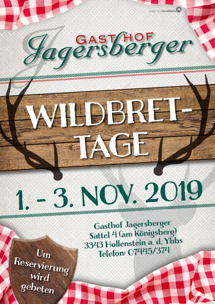 Wildbrettage Gasthof Jagersberger